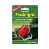 Coghlans Dynamo Flashlight With Key Ring Clip