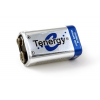 Tenergy Lion 9V Rechargeable Battery, Blue and Silver