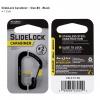 Nite Ize Carabiner SlideLock Steel Number 2, Black CSL2-01-R3