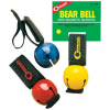 Liberty Mountain Bear Bell w/Magnetic Silencer-Red