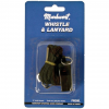 Markwort Whistle W/lanyard Black