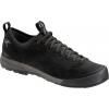 Arc'Teryx Acrux SL Leather GTX Approach Shoe - Men's-Black/Shark-Medium-8.5