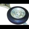 Malone Galvanized Spare Tire w/ Locking Attachment, 12in