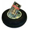 Malone Galvanized Spare Tire with Locking Attachment, 8 inches