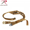 Rothco Tactical Single Point Sling, Coyote Brown