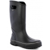 Bogs Mens Rain Boot,Black,Size 10