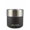 AVEX Sundowner 13oz. Insulated Rocks Glass Mug, Gregory Logo, Slate