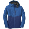 Outdoor Research Alpenice Hooded Jacket - Men's-Baltic/Glacier-Large