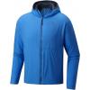 Mountain Hardwear ATherm Hooded Jacket - Men's-Altitude Blue-Small