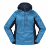 Big Agnes Willow Hooded Pullover - Women's-Turquoise/Navy-Small