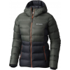 Columbia Explorer Falls Hooded Jacket - Women's-Black/Gravel/Hot Pepper-X-Small
