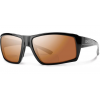 Smith Challis Bifocal Reading Sunglasses, Black Frame, Polarized Copper Mirror 2.00 Lens, Polarized
