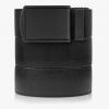 SlideBelts Survival Belt, Black Strap-Matte Black Buckle, 55in Long, 1.5in Wide