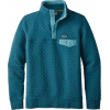 Patagonia Cotton Quilt Snap-T Pullover - Women's-Elwha Blue-Small