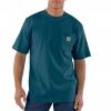 Carhartt Workwear Pocket Short Sleeve T-Shirt for Mens, Stream Blue, Large/Regular, G