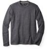 Smartwool Heritage Trail Fleece Crew Sweater, Charcoal Heather, Medium