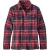 Patagonia Long Sleeve Fjord Flannel Shirt - Womens-Big Sky Plaid/Magenta-6