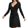 Toad&Co Cue Wrap Dress - Women's-Black-X-Small