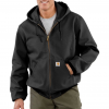 Carhartt Thermal Lined Duck Active Jacket for Mens, Black, Large/Regular, J131-BLK-REG-LRG
