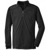 Outdoor Research Sequence Long-Sleeve Zip Top - Men's-Black-Small