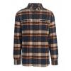 Woolrich Oxbow Pass Eco Rich Flannel Shirt - Men's, Deep Indigo Herringbone, S