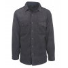 Woolrich Andes Fleece Shirt Jacket - Men's, Charcoal Heather, XL