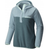 Columbia Mountain Side Hooded Pull Over - Women's-Stone Blue/Cloudburst Heather/Bluegrass-X-Small