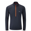 photo: Rab Men's Interval Long Sleeve Zip Tee