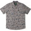 HippyTree Sycamore Woven Short Sleeve Shirt - Men's-Grey-Small