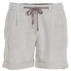 Woolrich Outside Air Eco Rich Linen Blend Short - Women's-Vintage Khaki-Small