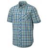 Marmot Cottonwood Short Sleeve - Men's-Peak Blue-XX-Large