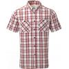 Craghoppers Edmond Short Sleeve Shirt - Men's -Brick Red Check-XX-Large