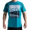Level Six Coastal Short Sleeve Sun Shirt - Men's-Laguna Blue-Large