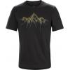 Arc'Teryx Shards HW Short Sleeve T-Shirt - Men's-Black-X-Large