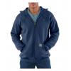 Carhartt Midweight Hooded Zip-Front Sweatshirt - Men's-New Navy-Regular-Medium