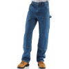 Carhartt Double-Front Logger Dungaree - Men's-Dark Stone-Short Inseam-30 Waist
