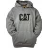 Caterpillar Trademark Hooded Sweatshirt, Dark Heather Grey, 2XL