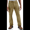 Carhartt Washed Twill Dungaree Flannel Lined Pant for Mens, Dark Khaki, 31/30