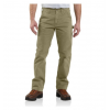 Carhartt Relaxed Fit Washed Twill Dungaree - Men's-Dark Khaki-Regular Inseam-36 Waist