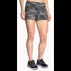 Brooks Greenlight 3 Inch Running Short Tight - Women's-Black Ikat Jacquard-Large