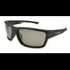 Angler Eyes Bullhead Sunglasses, Black Camo Frame, Smoke Polarized Lens, Polarized