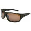 Angler Eyes Burbot Sunglasses, Camo Frame, Smoke Polarized with Silver Mirror Flash Lens, Polarized