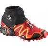 Salomon Trail Gaiters Low - Men's-Black-Large