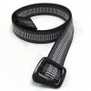 Bison Designs Carbonator Carbon Fiber Buckle - Mens Belt-Blue-Medium