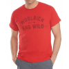 Woolrich Hayes Run Graphic Tee-Canoeing Sheep-Small