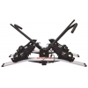 Malone Pilot HM2 Solo - Hitch Mount Platform 2 Bike Carrier, 1.25in and 2in