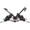 Malone Pilot HM2 - Hitch Mount Platform Expandable 2 Bike Carrier, 2in