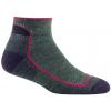 Darn Tough Hike/Trek 1/4 Sock Cushion - Women's-Moss Heather-Medium
