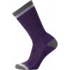 Smartwool Jitterbug Crew Sock - Women's-Mountain Purple Heather-Small