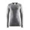 Craft Active Comfort Roundneck Long Sleeve, Black Melange, Medium, 1903716-B999-M